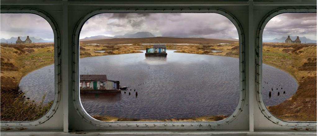 I canna believe its Scotland 127x 60cms edition of 10 by Artist Photographer Nicholas Gentilli