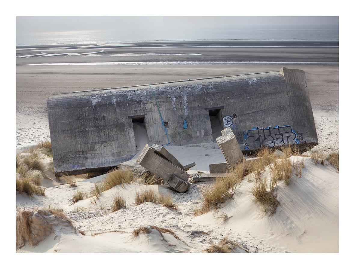 Blockhouse No 21 59 x 44cms edition 100 by Artist Nicholas Gentilli