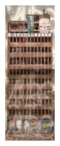 """ Babel "" 107x45cms edition of 10 Giclee Inkjet on Fine Art paper"