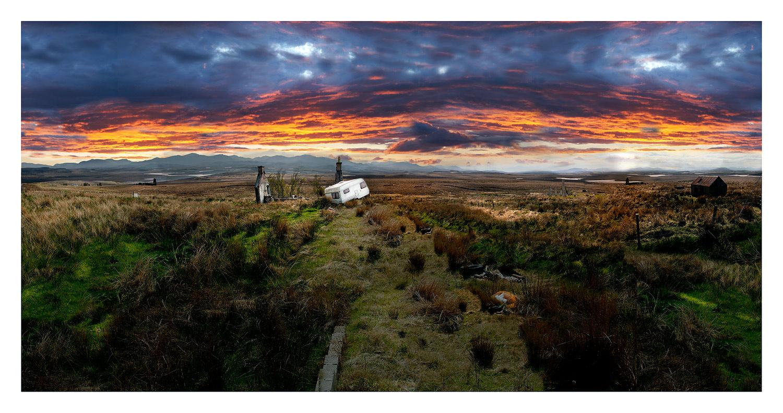 I canna believe its Scotland No 2 130x 68cms edition of 10 by Artist Photographer Nicholas Gentilli