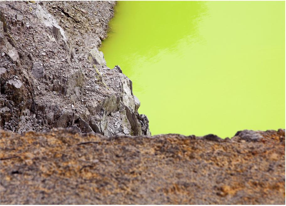 Minerals from Super Volcanoes by artist Nicholas Gentilli