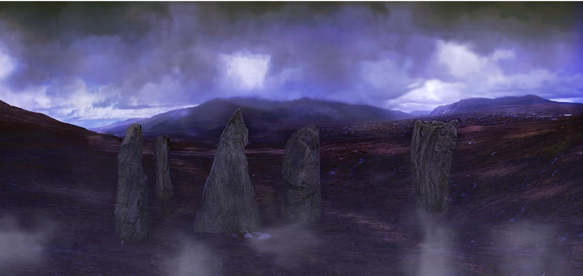 """ I canna believe its Scotland No 3 "" 112 x 53cms edition of 10 Giclee Inkjet on Fine Art paper"